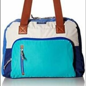 Vera Bradley go anywhere carry on bag cool lagoon